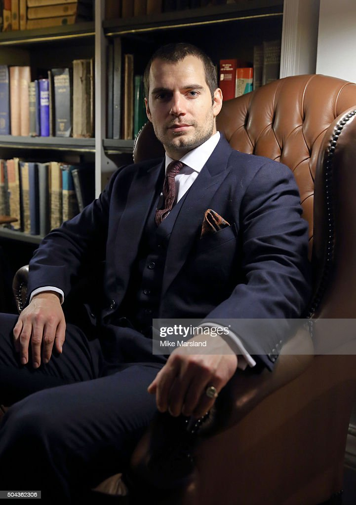 Henry Cavill attends the dunhill Presentation at the The Savile Club during The London Collections Men AW16 on January 10, 2016 in London, England.