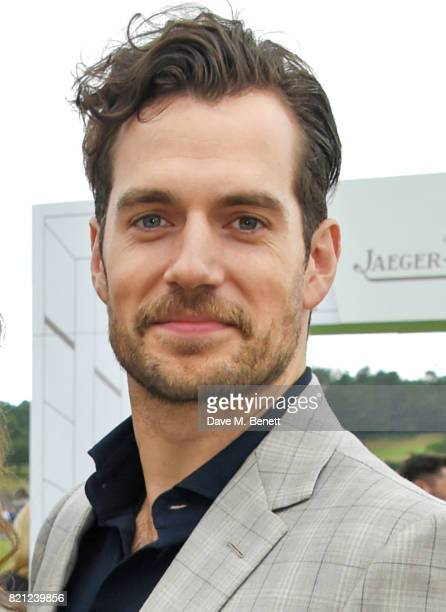 Henry Cavill attends the Jaeger-LeCoultre Gold Cup Polo Final at Cowdray Park on July 23, 2017 in Midhurst, England.