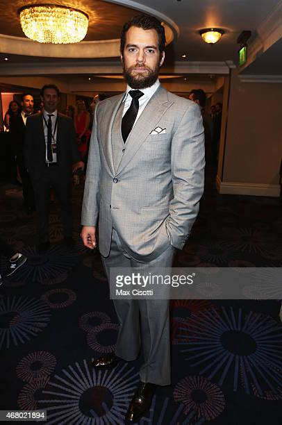 Henry Cavill attends the Jameson Empire Awards 2015 at Grosvenor House Hotel on March 29 2015 in London England