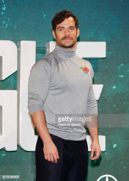 Henry Cavill attends the 'Justice League' photocall at The College on November 4 2017 in London England