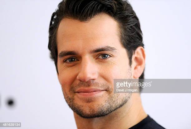 Henry Cavill attends 'The Man from U.N.C.L.E.' photocall at Claridge's Hotel on July 23, 2015 in London, England.