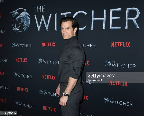Henry Cavill attends the photocall for Netflix's The Witcher Season 1 at the Egyptian Theatre on December 03 2019 in Hollywood California