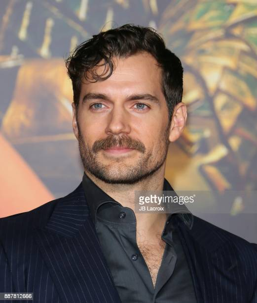 Henry Cavill attends the premiere of Warner Bros Pictures' 'Justice League' on November 13 2017 in Los Angeles California