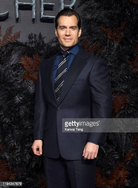 Henry Cavill attends The Witcher World Premiere at The Vue on December 16 2019 in London England