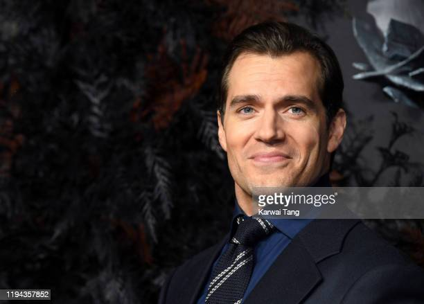"Henry Cavill attends ""The Witcher"" World Premiere at The Vue on December 16, 2019 in London, England."