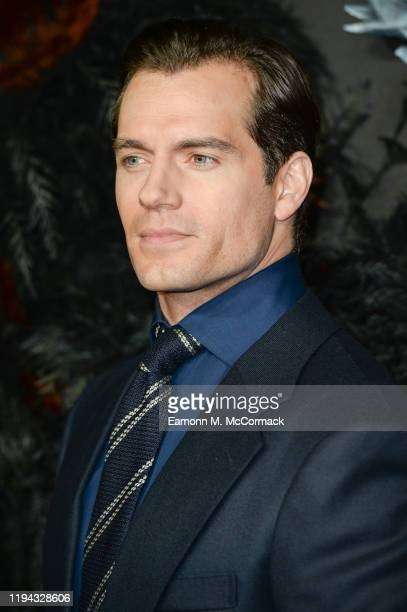 Henry Cavill attends The Witcher World Premiere at Vue Cinema West End on December 16 2019 in London England