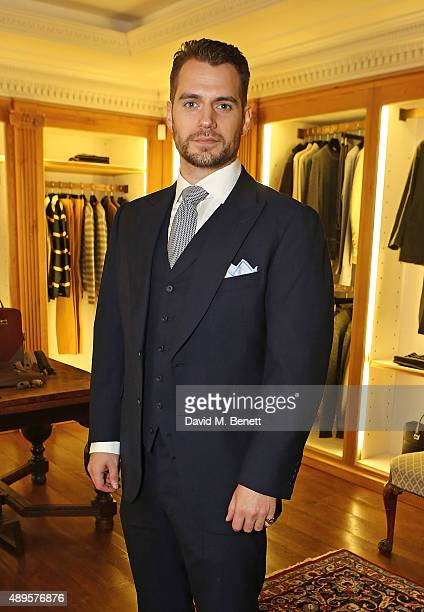 Henry Cavill attends The World Land Trust screening of 'The Orchids of Banos' supported by Alfred Dunhill on September 22 2015 in London England