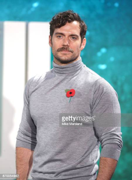 Henry Cavill during the 'Justice League' photocall at The College on November 4 2017 in London England