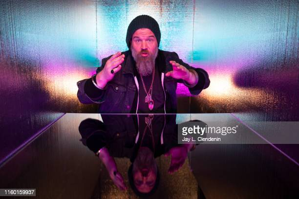 Actor Ryan Hurst from the television series The Walking Dead photographed at the LA Times Photo and Video Studio at ComicCon International on Friday...