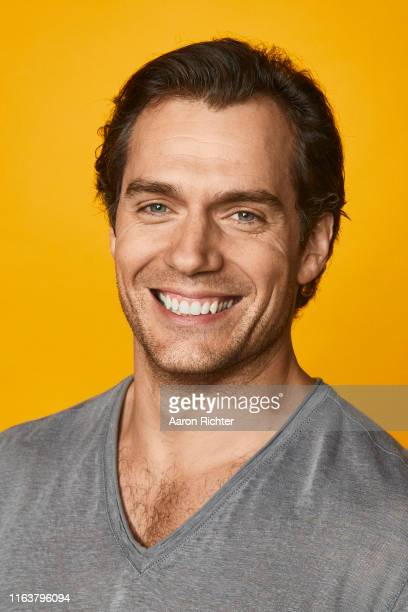 Henry Cavill of 'The Witcher' poses for a portrait at the Pizza Hut Lounge at 2019 ComicCon International San Diego on July 20 2019 in San Diego...