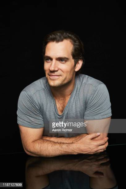 "Henry Cavill of ""The Witcher"" poses for a portrait in the Pizza Hut Lounge at 2019 Comic-Con International: San Diego on July 20, 2019 in San Diego,..."