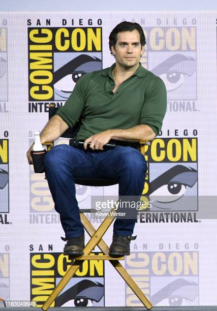 """Henry Cavill speaks at """"The Witcher"""": A Netflix Original Series Panel during 2019 Comic-Con International at San Diego Convention Center on July 19,..."""