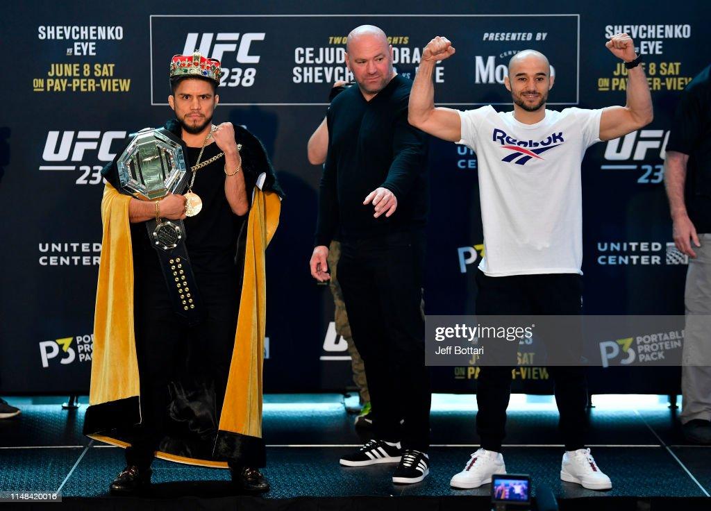 UFC 238: Ultimate Media Day : News Photo