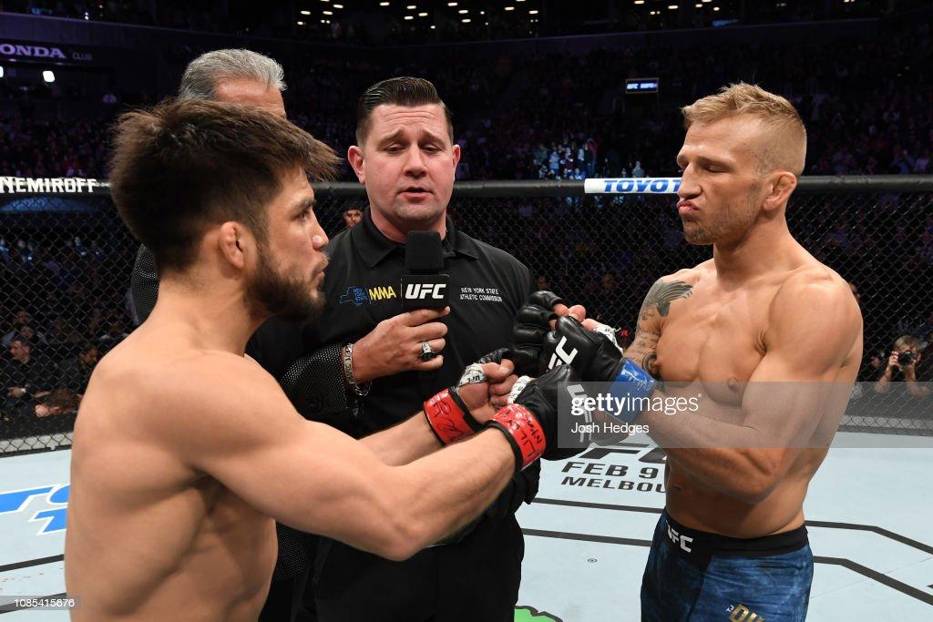 UFC Fight Night: Cejudo v Dillashaw : News Photo