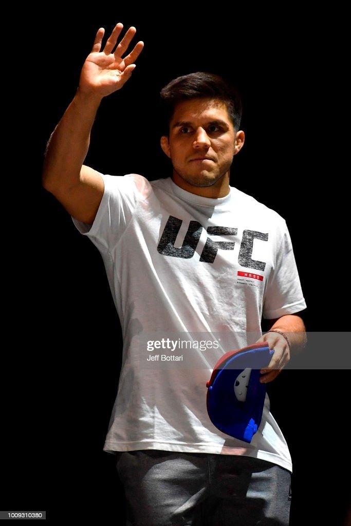 UFC 227 Open Workouts : News Photo