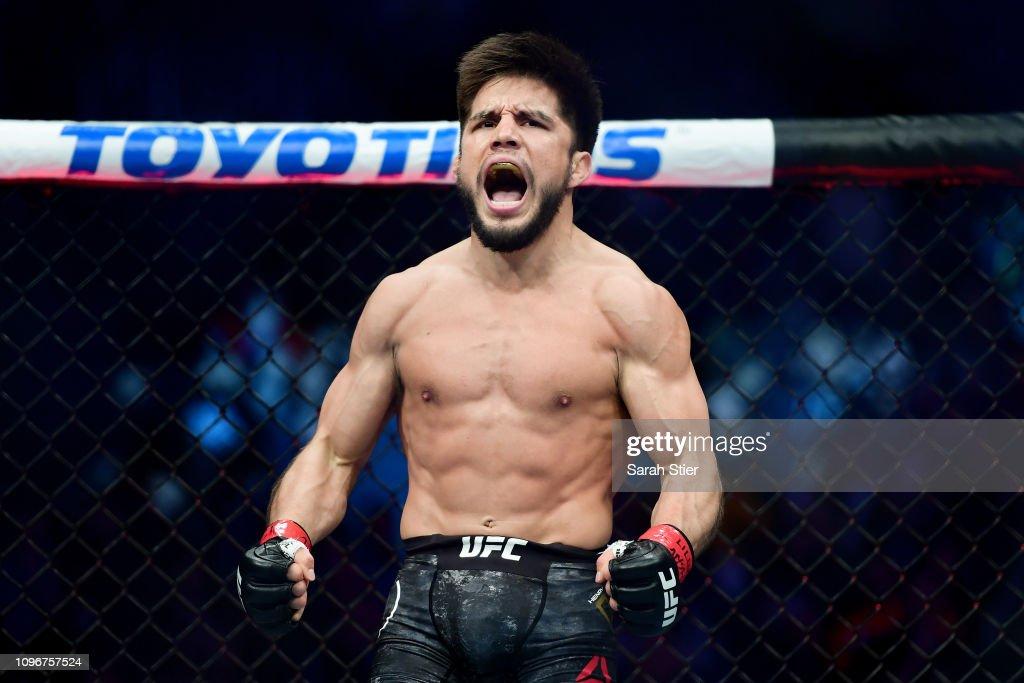 UFC Fight Night Cejudo v Dillashaw : News Photo