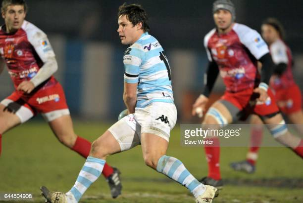 Henry CHAVANCY Racing Metro / Montpellier 15e journee Top 14 Photo Dave Winter / Icon Sport
