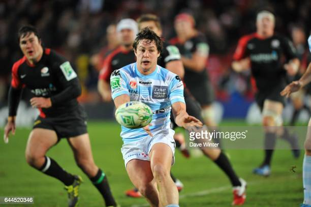 Henry CHAVANCY Saracens / Racing Metro 92 H Cup 3e journee Groupe 2 Vicarage Road Watford Photo Dave Winter / Icon Sport