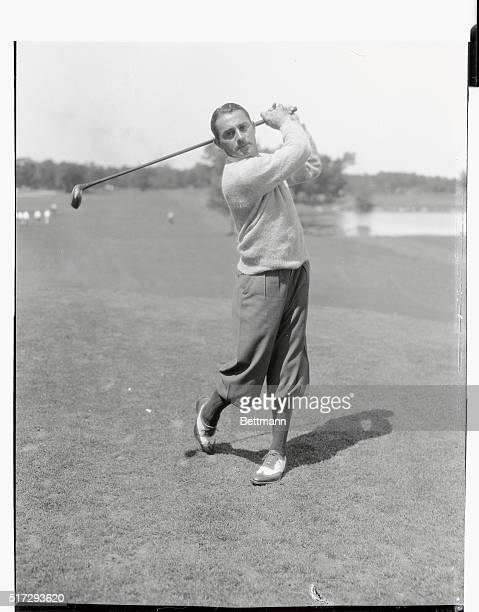 Henry Ciuci of Bridgeport Connecticut who scored a 69 at the National Open Golf tournament