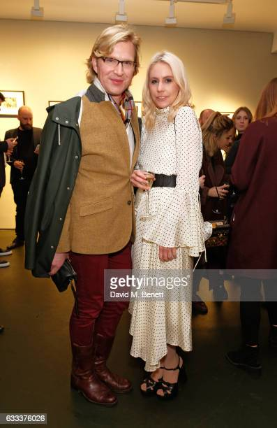 Henry Conway and India Rose James attend a private view of 'A Paul Raymond Show' an exhibition curated by Alex Wood and India Rose James at Soho...