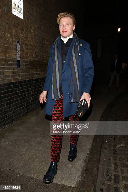 Henry Conway at the Chiltern Firehouse on March 4 2015 in London England