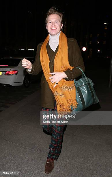 Henry Conway attending a VIP screening of 'Eating Happiness' in association with the World Dog Alliance at The Mondrian Hotel on January 25 2016 in...
