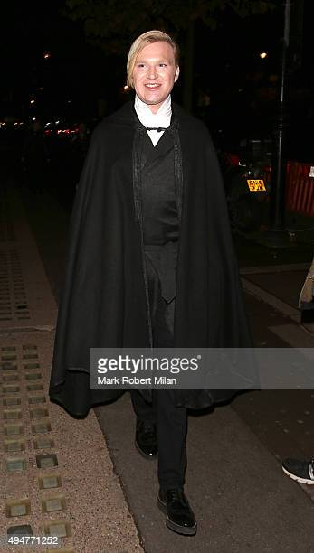 Henry Conway attending The Veuve Clicquot Widow Series launch party on October 28 2015 in London England