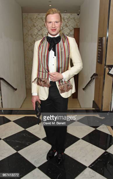 Henry Conway attends the British LGBT Awards 2018 at the London Marriott Hotel Grosvenor Square on May 11 2018 in London England