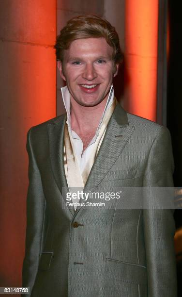 Henry Conway attends the Evening Standard's party celebrating London's 1000 Most Influential People 2008 at The Wallace Collection on October 6, 2008...