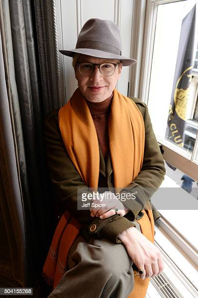 Henry Conway attends the Hardy Amies presentation during The London Collections Men AW16 at The Arts Club on January 9 2016 in London England