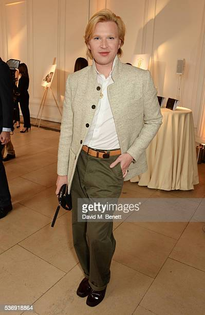 Henry Conway attends the launch of British fashion brand Sienna Jones' debut collection 'The Marina Range' at The Orangery, Kensington Palace, on...