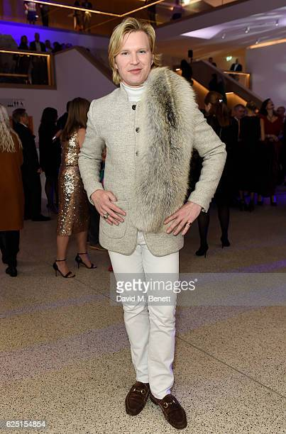 Henry Conway attends the launch of the new Design Museum cohosted by Alexandra Shulman Sir Terence Conran Deyan Sudjic on November 22 2016 in London...