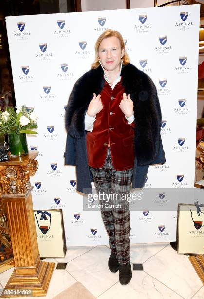 Henry Conway attends the new flagship store launch of Aspinal on Regent's Street St James's on December 5 2017 in London England