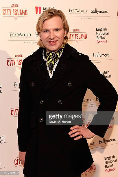 Henry Conway attends the opening of London City Island the capital's new cultural neighbourhood on November 8 2016 in London United Kingdom