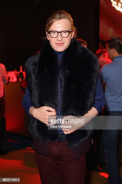 Henry Conway attends the UK launch event for the new Ferrari Portofino at Kensington Olympia on November 29 2017 in London England