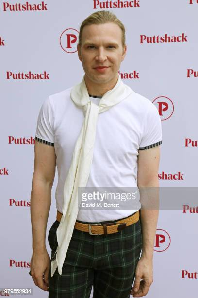 Henry Conway attends the VIP launch of Puttshack in West London celebrating a 'hole' new night out on June 20 2018 in London England