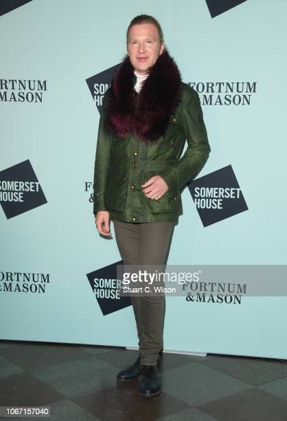 Henry Conway attends the VIP launch of Skate at Somerset House on November 13 2018 in London England