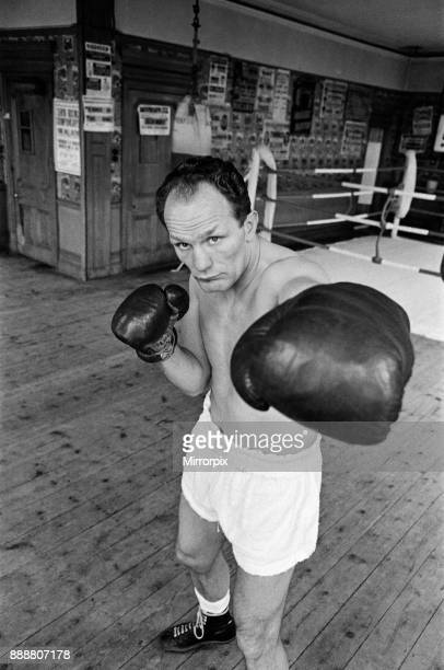 Henry Cooper pictured in training 16th April 1966