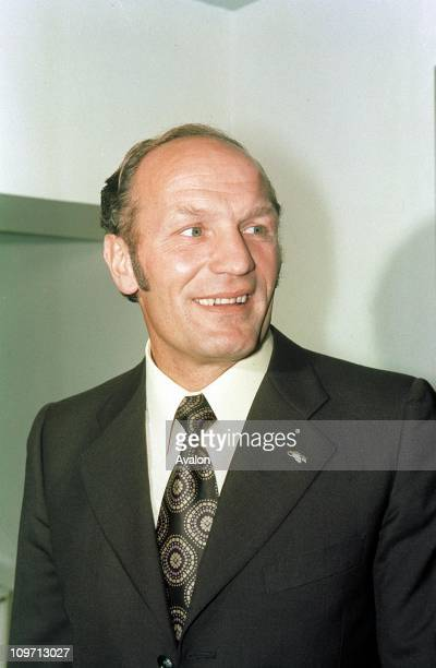 Henry Cooper Retired British Heavyweight Boxer Company Director