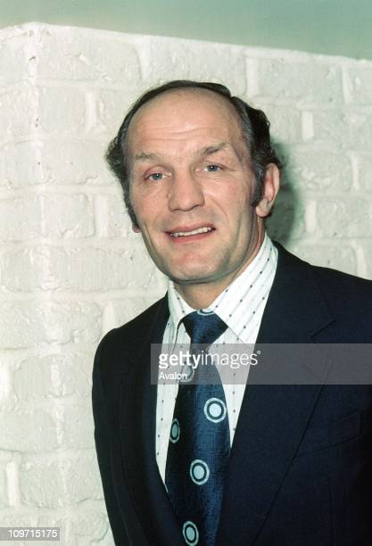 Henry Cooper Retired British Heavyweight Boxer Company DirectorAt the launch of his first record