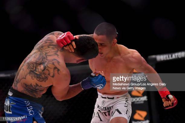 Henry Corrales defeats Aaron Pico via round one knockout during Bellator 214 at the Forum in Inglewood CA Saturday Jan 26 2019