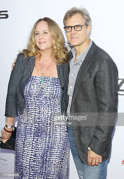 Henry Czerny and Claudine Cassidy arrive at the 2013 Los Angeles Food Wine Festival Festa Italiana With Giada De Laurentiis opening night held on...