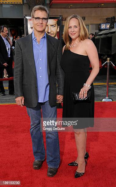 Henry Czerny and Claudine Cassidy arrive at the Los Angeles Premiere of The ATeam at the Grauman's Chinese Theatre on June 3 2010 in Hollywood...
