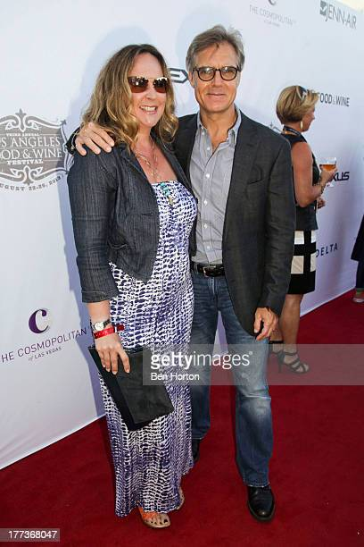 Henry Czerny and Claudine Cassidy attend the Festa Italiana with Giada de Laurentiis opening night celebration of the third annual Los Angeles Food...