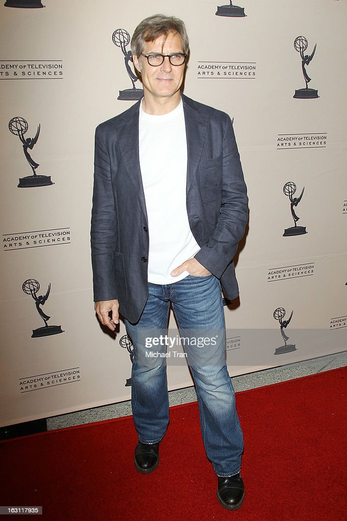 Henry Czerny arrives at The Academy of Television Arts & Sciences presents an evening with 'Revenge' held at Leonard H. Goldenson Theatre on March 4, 2013 in North Hollywood, California.