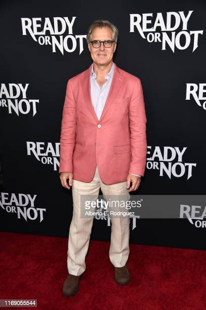 """Henry Czerny attends the LA Screening Of Fox Searchlight's """"Ready Or Not"""" at ArcLight Culver City on August 19, 2019 in Culver City, California."""