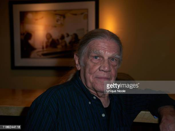 Henry Diltz attends Conde Nast Collection Event at Morrison Hotel Gallery on November 07 2019 in West Hollywood California