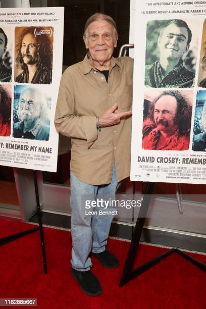 Henry Diltz attends Premiere Of Sony Pictures Classic's David Crosby Remember My Name at Linwood Dunn Theater on July 18 2019 in Los Angeles...