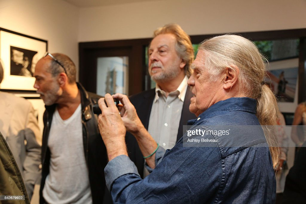 Henry Diltz attends the celebration for 'Don't Look Back' exhibit at Morrison Hotel Gallery on June 23, 2016 in West Hollywood, California.