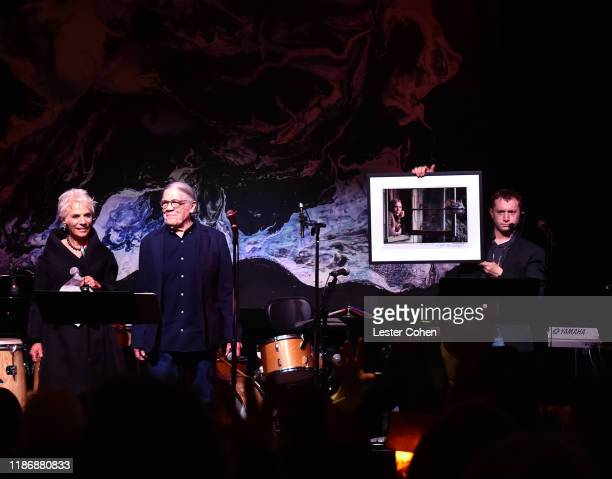 Henry Diltz attends the Jazz Foundation honors Joni Mitchell And Wayne Shorter at Vibrato on November 10, 2019 in Los Angeles, California.
